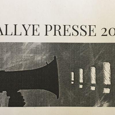 La Semaine de la presse et des médias à l'école : Etape 3, le Rallye presse