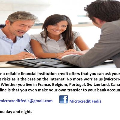 Fast and reliable loan offer