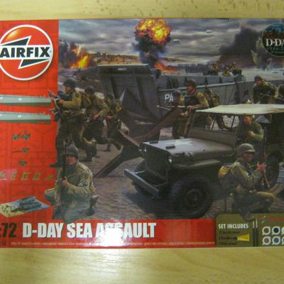 IN THE BOX : D-DAY sea assault (Airfix)