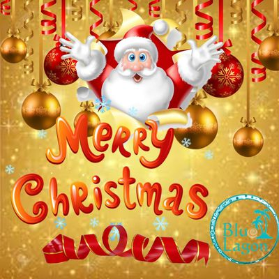 Merry Christmas with Blue Lagon!