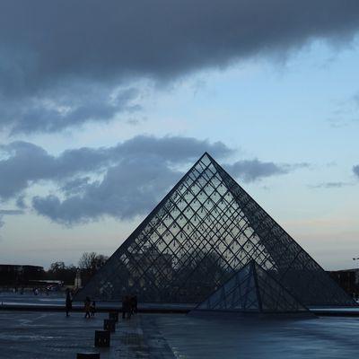 Lever du jour hivernal - Paris de Notre Dame aux Tuileries