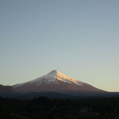 Au sommet du volcan Villarrica