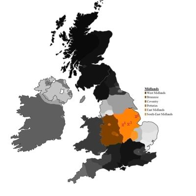 East-Midlands dialects