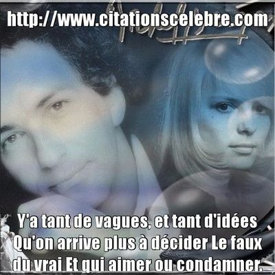 Citation de Michel Hamburger, dit Michel Berger