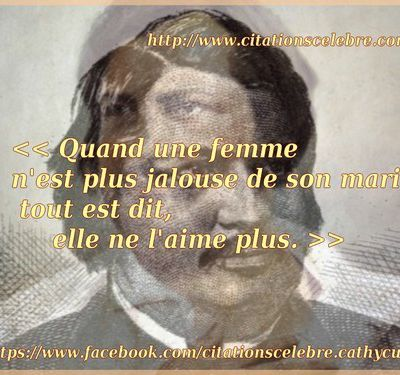 Citation de Honoré de Balzac