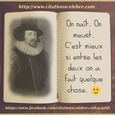 Citation de Francis Bacon