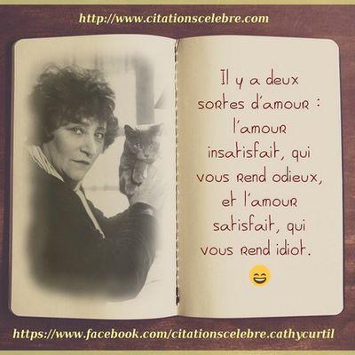 Citation de Sidonie-Gabrielle Colette