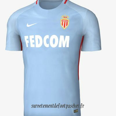 maillot de foot as monaco 2017-2018 exterieur
