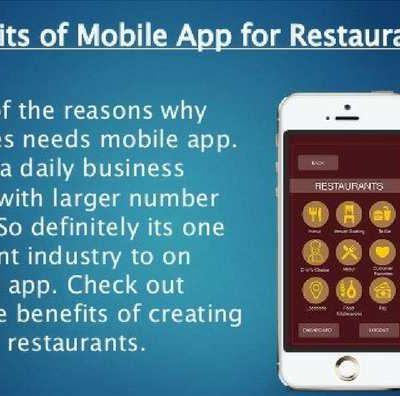 The Benefits of Mobile Apps for Restaurants
