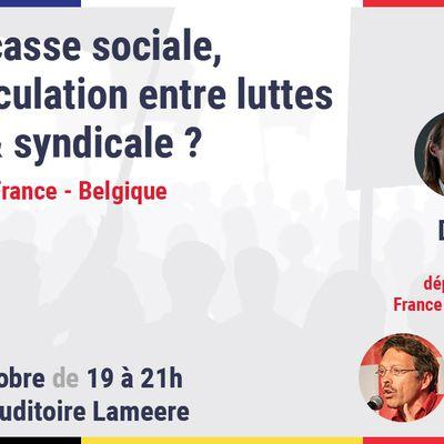 Droit du travail : regards croisés France - Belgique