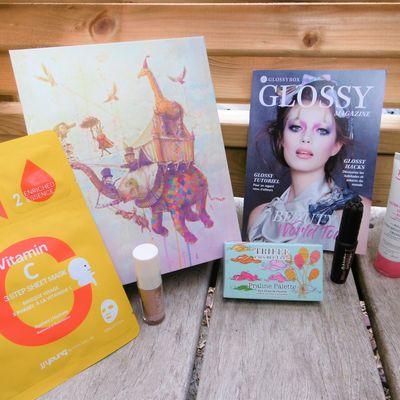 Unboxing de la glossybox de septembre: Ultra-hydratante crème de Topicrem