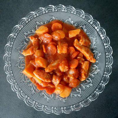 Ragoût de poulet aux pommes de terre & carottes - 5sp
