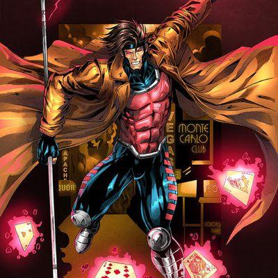 L'Univers de Marvel - GAMBIT (Héros)