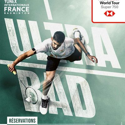 Internationaux de France de Badminton 2018
