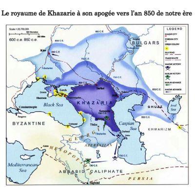 Qui étaient les Khazars ? Histoire & Génétique (Haplogroupes Y-ADN et mitochondriaux mt)