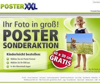 Utiliser des codes promo PosterXXL en ligne pour des remises