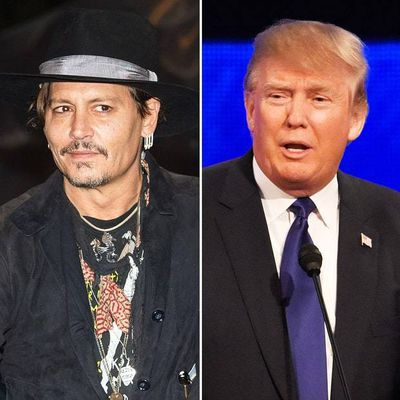 Johnny Depp Makes Controversial Assassination Comment About President Donald Trump