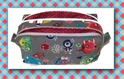 Trousse double par Madalena