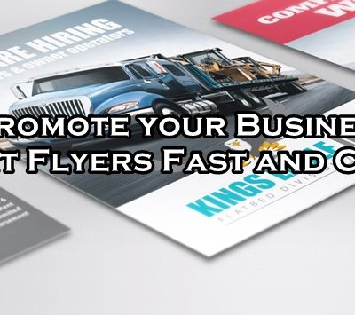 Business Flyers Printing - Inform people about your business!