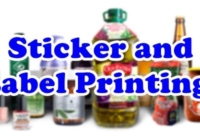 Print Custom Stickers and Labels!