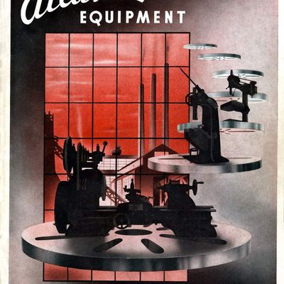 Catalogue Atlas LATHES 1937