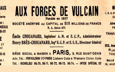 Catalogue Aux Forges de Vulcain 1931