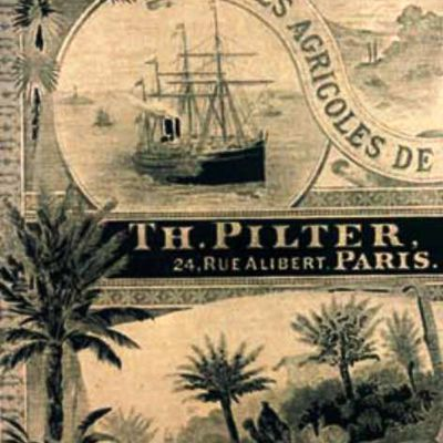 Catalogue Ets PILTER  1892