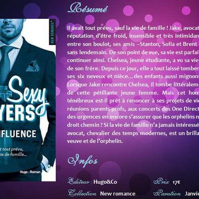 Sous influence (#2 Sexy Lawyers) d'Emma Chase