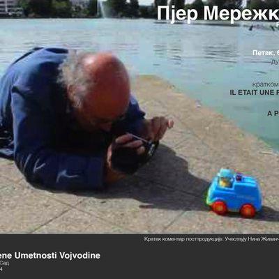 PROJECTION FILMS MEREJKOWSKY EN SERBIE