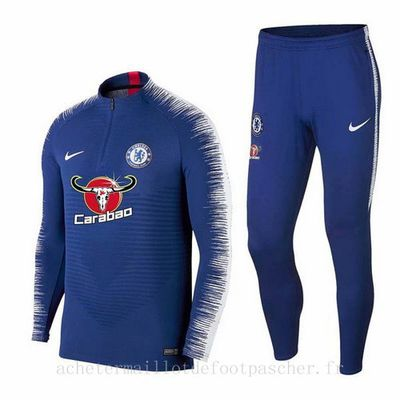 Survetement foot de ensemble bleu Chelsea 2019