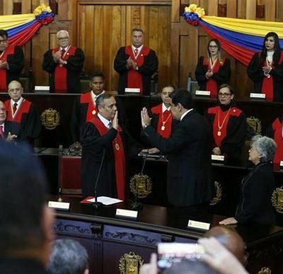 ¿Quiénes asistieron a la juramentación de Nicolás Maduro?