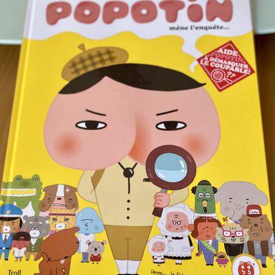 Détective Popotin mène l'enquête {Chut les enfants lisent#16}
