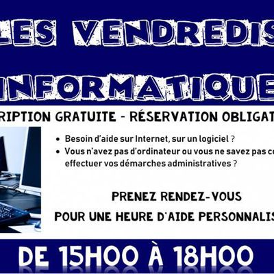 Les Vendredis Informatique