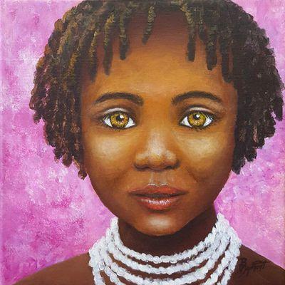 Jeune fille africaine