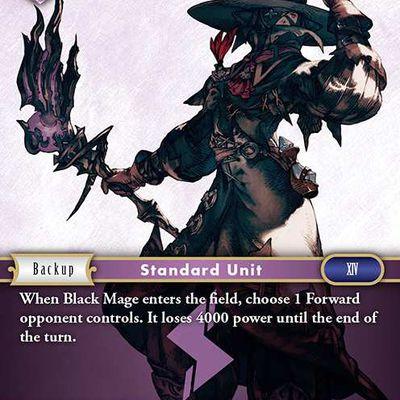Carte : Mage Noir (2-108C)