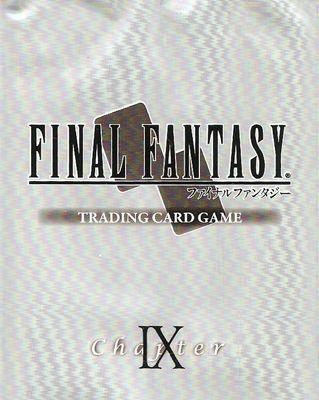 Mes Ventes : Cartes FFTCG Japonaises Version 1 (Chapitre 9)