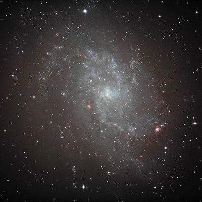 La Galaxie Messier 33 dans la nuit du 11 décembre 2018