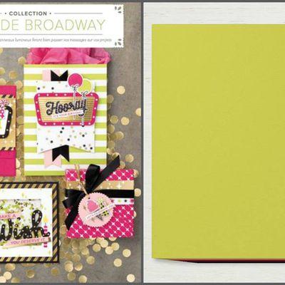 Blog hop de juin : Combo couleur Digne de Brodway