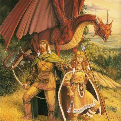 Les restaurations du dragon : AD&D Dragonlance modules DL1 et DL2