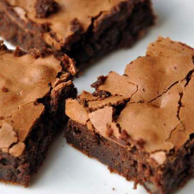 Brownies choco noisette avec Mambo et le four Cecotec