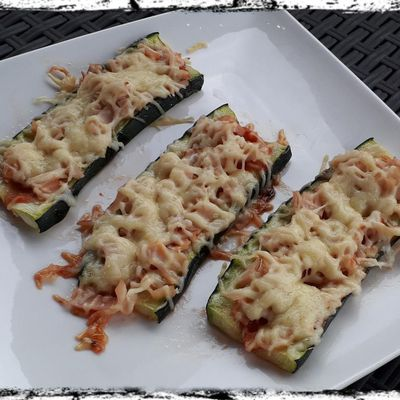 Pizza Courgette d'Amandine Cooking