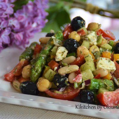 Bean & Chickpea Salad