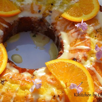 Orange & Chocolate Glazed Bundt Cake