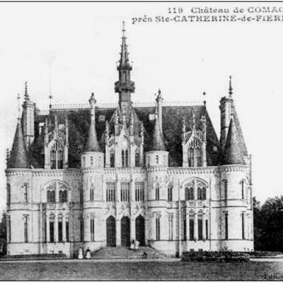 CHÂTEAU DE COMACRE (Sainte-Cathrerine-de-Fierbois, Indre-et-Loire)