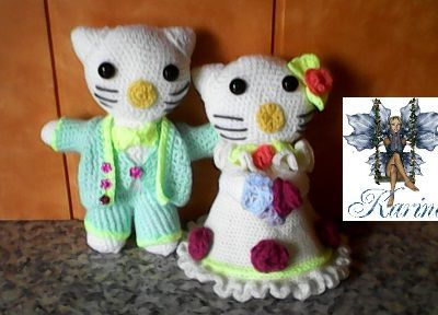 TUTORIEL GRATUIT  DES MARIES HELLO KITTY