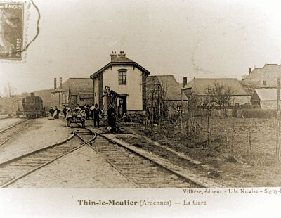 Quand le  train passait à Thin le Moutier…