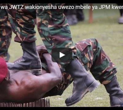 [UPDATED STORIES] MAKOMANDO WAKIONESHA UMWANBA SIKU YA SHEREHE YA MUUNGANO (MIAKA 53)