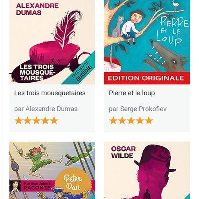 Livres audio en Français pour enfants