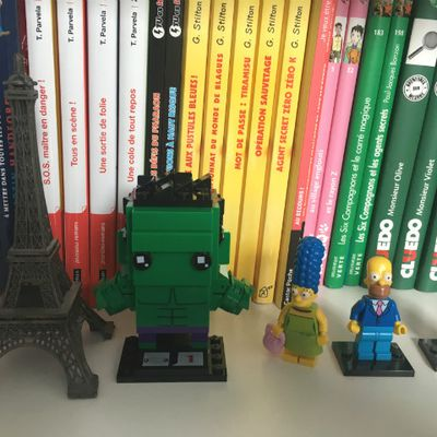The Hulk [Lego BrickHeadz 41592].