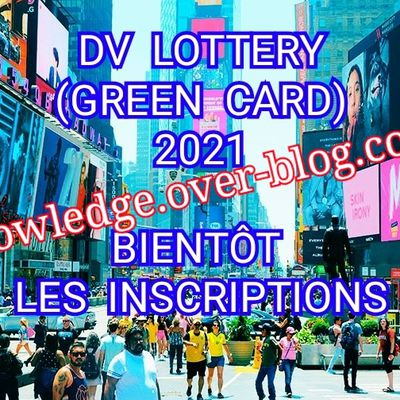DV LOTTERY 2021